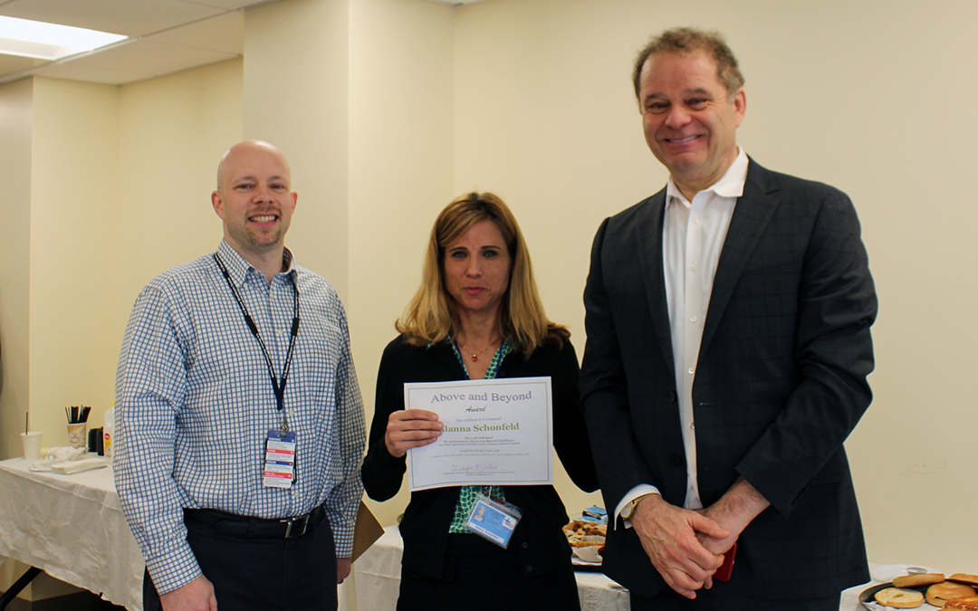 "NECHV Case Manager Receives Boston VA ""Above and Beyond"" Award"