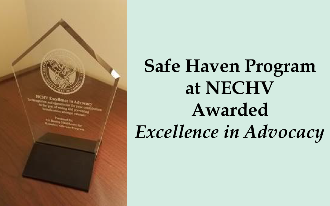 Safe Haven Program Receives VA Boston Award
